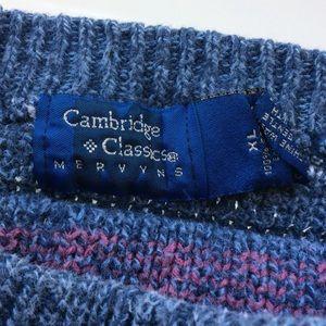 Cambridge Classics Sweaters - Cambridge Classics Vintage 90s Men's XL Sweater
